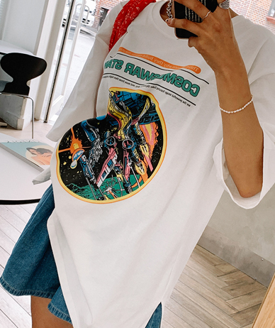 Space Station Long T-shirt